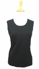 A'la Carte Black Tank #L67113BT