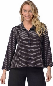 Habitat #25619 Seamed Pocket Jacket