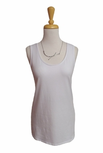 Habitat Clothes #26310 White Tank Top/Final Sale