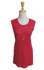 Habitat Clothes #29215 Raspberry Empire Swing Long Tank Top/Final Sale