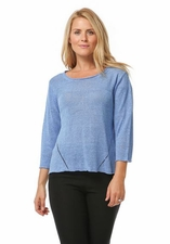 Habitat Clothes #85623 Seawater Medium Weight Sweater/Final Sale