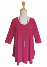 IC Collection #6899T Fuchsia Tunic