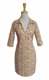 Katherine Way #nola146 Barcelona Geranium Dress/Final Sale