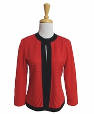 Ming Wang #M6652AC Saffron/Black Jacket/Final Sale