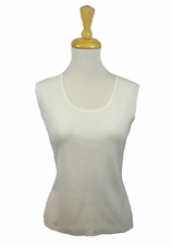 Ming Wang #MT0200MW White Tank