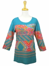 "Multiples Clothing #M3704TM ""Dream Catcher"" Tunic"