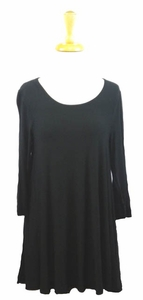 "Multiples Clothing #M37108TM ""Sophisticated Lady"" Black Top"