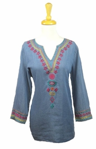 "Multiples Clothing #M37309TM ""Dream Catcher"" Tunic"