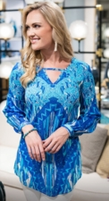 """Sharon Young """"Blues In Harmony"""" #S18308BM Top"""