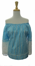 "Sharon Young ""Blues In Harmony"" #S18310BM Top"
