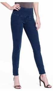 Slim Sation #M17713PM Dark Indigo Ankle Legging