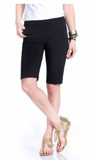Slim Sation #M2632 Black Walking Short/Front & Back Pockets/Final Sale