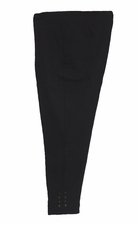 Slim Sation #M37706PM 360 Surround Comfort Black Ankle Pant/No Pockets