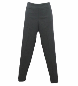 Slim Sation #M37707PMbl Black Ankle Pant/No Pockets