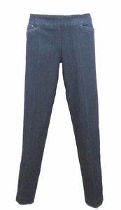 Slim Sation #M37710PMdn Denim Ankle Pant/Front Pockets