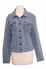 Slim Sation #M47709JMu Lt Indigo Jacket