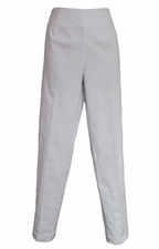 Slim Sation #M9005P White Pant/No Pockets