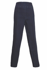 Thin Her #9800P Dark Denim Straight Leg Pant