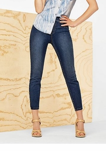 Tribal #50560-1385 Navy Jegging Ankle Dream Jean