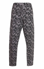 Tribal #88520-5303P Flatten It Pewter Print Legging/Final Sale
