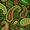 "Holiday Paisley 24""x417'"