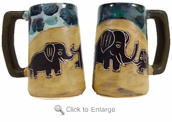 Mara Beer Stein - Elephant 16oz