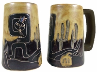 Mara Beer Stein - Kokopelli 16oz