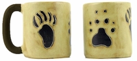 Mara Mug - Bear and Wolf Paw 16oz-out of stock until approximately early June