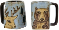 Mara Mug - Bear / Deer 12oz