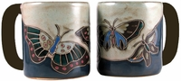 Mara Mug  - Butterfly Blue 16oz