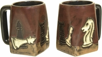 Mara Mug - Chess 12oz