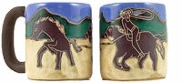 Mara Mug - Cowboy and Lasso 16oz