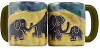 Mara Mug - Elephants 16oz