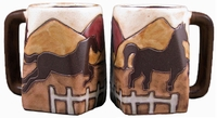 Mara Mug - Equestrian Horses 12oz-Out of Stock Until January 2021