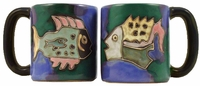 Mara Mug - Fish 16oz