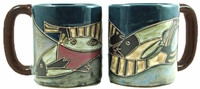 Mara Mug  - Fish School 16oz
