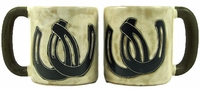 Mara Mug - Horseshoes 16oz