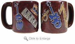 Mara Mug - Musical Instruments 16oz