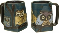 Mara Mug - Owls on Branch 12oz