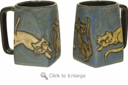 Mara Mug - Playful Cats 12oz
