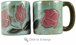 Mara Mug - Red Rose 16oz