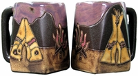 Mara Mug - TeePee/Camp Fire 12oz