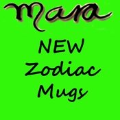 Mara Zodiac Mugs New Design 16oz