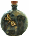 Mara Stoneware 20oz Round Decanter - Dragonfly