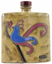 Mara Stoneware 24oz Square Decanter - Bird