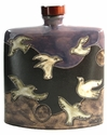 Mara Stoneware 24oz Square Decanter - Doves