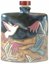 Mara Stoneware 24oz Square Decanter - Hummingbird Blue