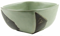 Mara Stoneware 26oz Square Bowl - Profiles