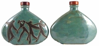 Mara Stoneware 28oz Decanter - Dancers