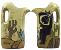 Mara Stoneware 32oz Pitcher - Kokopelli